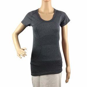 Lululemon Swiftly Tech Short Sleeve Top Size 6 Gray